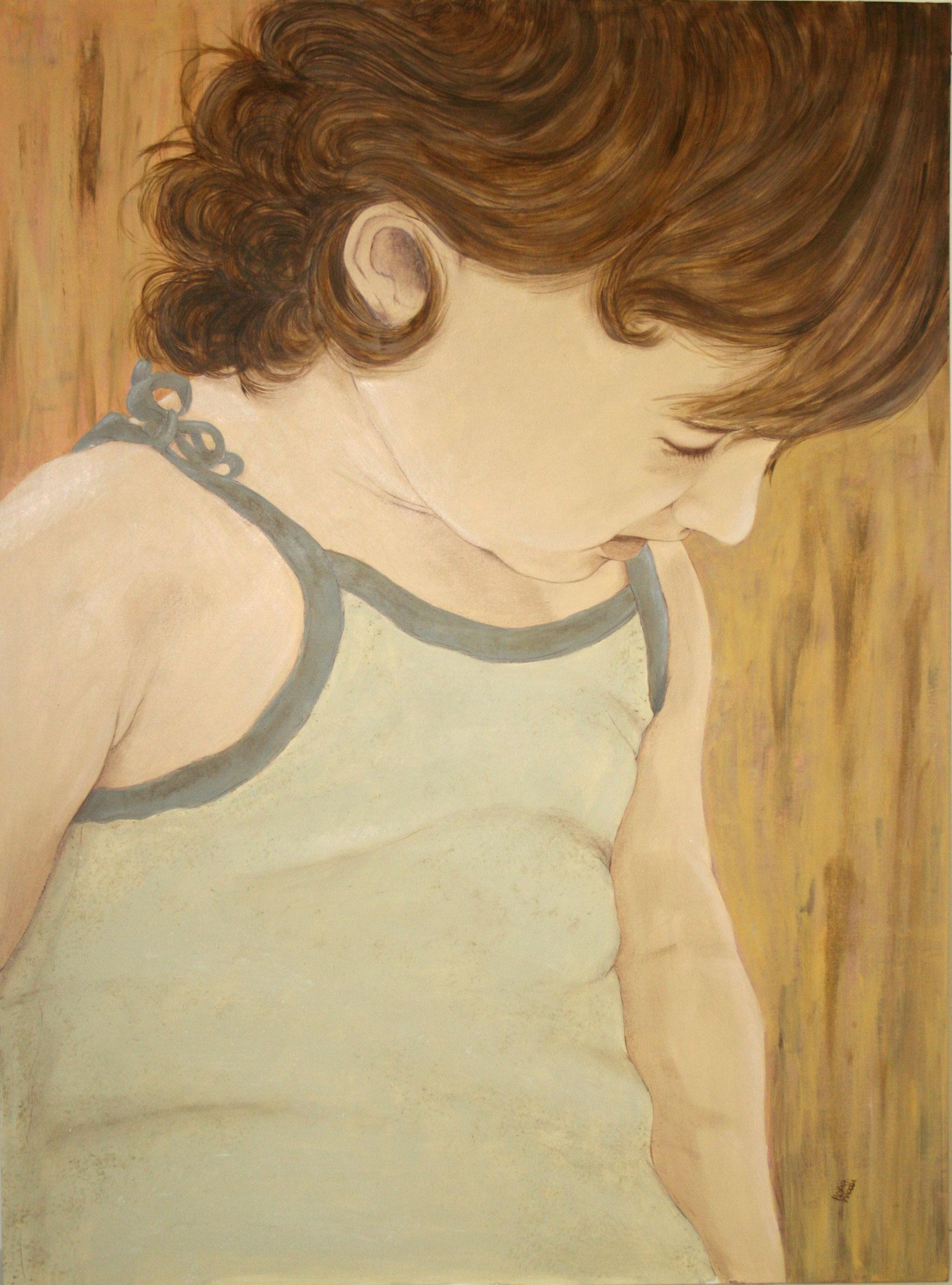 ritratto di Maddalena a 20 mesi